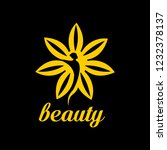 beauty products for girl   logo ... | Shutterstock .eps vector #1232378137