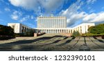 moscow  russia   september 29... | Shutterstock . vector #1232390101