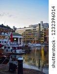 london  uk   march 2018  yachts ... | Shutterstock . vector #1232396014