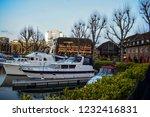 london  uk   march 2018  yachts ... | Shutterstock . vector #1232416831