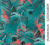 creative seamless pattern with... | Shutterstock . vector #1232416834