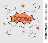 comic bubbles speech isolated... | Shutterstock .eps vector #1232438461