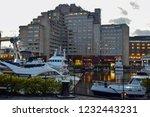 london  uk   march 2018  yachts ... | Shutterstock . vector #1232443231