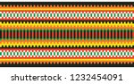 colored embroidery like cross... | Shutterstock .eps vector #1232454091