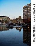 london  uk   march 2018  yachts ... | Shutterstock . vector #1232462521