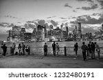 new york  usa   june 09  2018 ...   Shutterstock . vector #1232480191