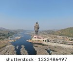Statue Of Unity Wide Angle Vie...