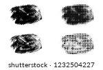 set of brush stroke and... | Shutterstock . vector #1232504227