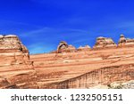 arches national park delicate...   Shutterstock . vector #1232505151
