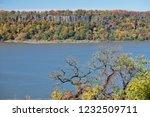 beautiful autumn landscape of... | Shutterstock . vector #1232509711