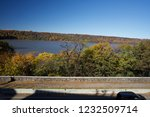 beautiful autumn landscape of... | Shutterstock . vector #1232509714