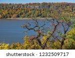 beautiful autumn landscape of... | Shutterstock . vector #1232509717