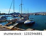 bay in the aegean sea with...   Shutterstock . vector #1232546881
