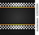 metallic sheet  vector... | Shutterstock .eps vector #123255034