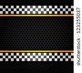 metallic perforated sheet ... | Shutterstock .eps vector #123255037