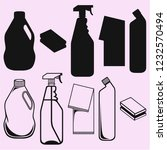 cleaning service vector... | Shutterstock .eps vector #1232570494