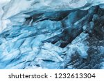 close up the ceiling of an ice... | Shutterstock . vector #1232613304