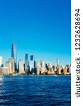 view of the skyline of downtown ... | Shutterstock . vector #1232628694