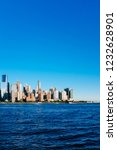 view of the skyline of downtown ... | Shutterstock . vector #1232628901