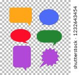 speech bubbles icon on...