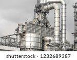 industrial zone the equipment... | Shutterstock . vector #1232689387