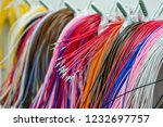 colorful wire harness and... | Shutterstock . vector #1232697757