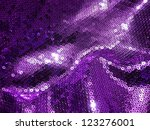 Violet Sequin Texture.