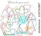 find hidden objects on the... | Shutterstock .eps vector #1232762887