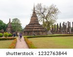 sukhothai  thailand   apr 07... | Shutterstock . vector #1232763844