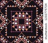 ethnic boho seamless pattern.... | Shutterstock .eps vector #1232775724