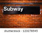 New York City Subway Sign...