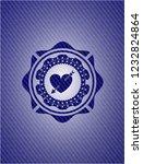 heart with arrow icon inside... | Shutterstock .eps vector #1232824864