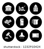 real estate icons set   house... | Shutterstock .eps vector #1232910424