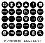 information icons set   info... | Shutterstock .eps vector #1232913784