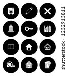 real estate icons set   house... | Shutterstock .eps vector #1232913811