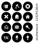 real estate icons set   house... | Shutterstock .eps vector #1232913814