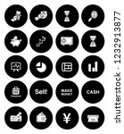 business financial icons set  ... | Shutterstock .eps vector #1232913877