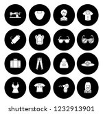 fashion design icons set  ... | Shutterstock .eps vector #1232913901