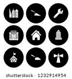 building icons set   vector... | Shutterstock .eps vector #1232914954