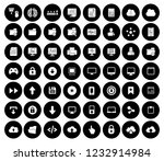 computer icons set   computer... | Shutterstock .eps vector #1232914984