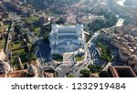 aerial drone view of iconic... | Shutterstock . vector #1232919484