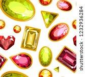 gems and diamonds  precious... | Shutterstock .eps vector #1232936284