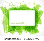 abstract green background with... | Shutterstock .eps vector #123293797