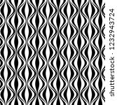 vertical waves  black and white.... | Shutterstock .eps vector #1232943724