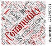 vector conceptual community ...   Shutterstock .eps vector #1232957071