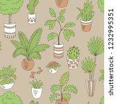home plants flower graphic...   Shutterstock .eps vector #1232995351