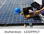 sun energy | Shutterstock . vector #123299917