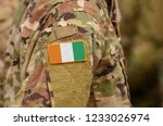 ivory coast or cote d'ivoire... | Shutterstock . vector #1233026974