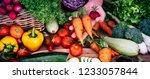 Table Full Of Fresh Vegetables...