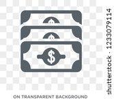 earnings icon. earnings design... | Shutterstock .eps vector #1233079114
